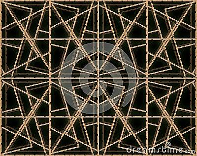 Futuristic Fabric Wires Pattern