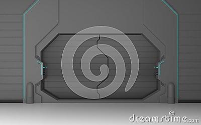 Futuristic Metallic Door Stock & Futuristic Sliding Door pezcame.com