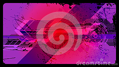 Futuristic Grunge Vector background