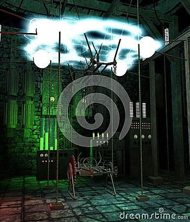 Futuristic laboratory 1