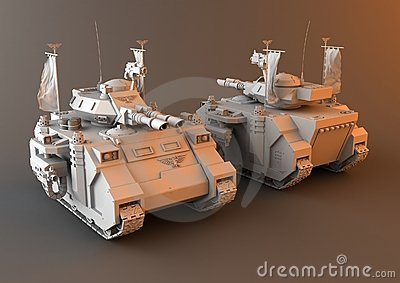 Futuristic Main Battle Tank