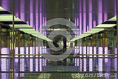 Futuristic mall