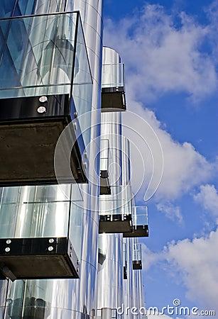Futuristic Office Building 3