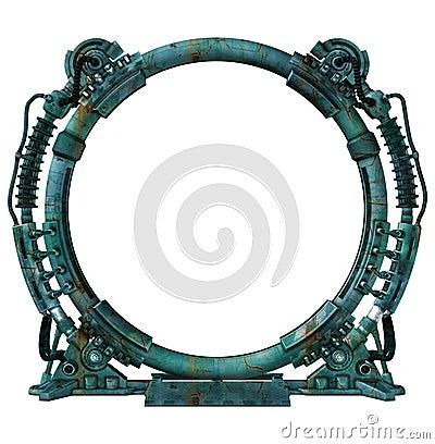 Free Futuristic Portal Stock Images - 12474724