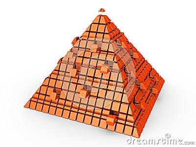 Futuristic pyramid