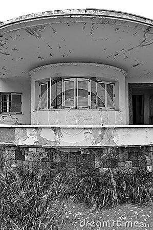 Futuristic ruins