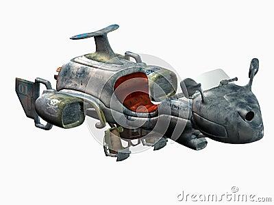 Futuristic space toy