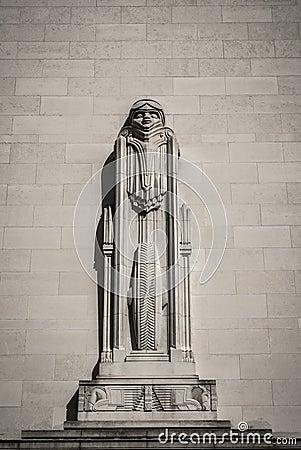 Futuristic Statue