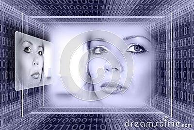 Futuristic technologies concep