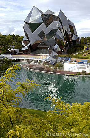 Futuroscope - Poitiers - France Editorial Stock Image