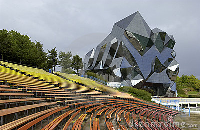 Futuroscope - Poitiers - France Editorial Stock Photo