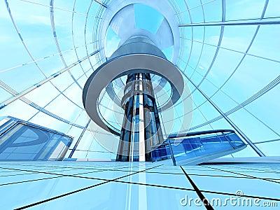 Futurystyczna architektura