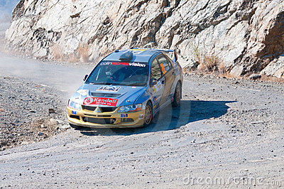 Fx Pro Cyprus Rally. Love Cyprus Stage. 2010 Editorial Photography