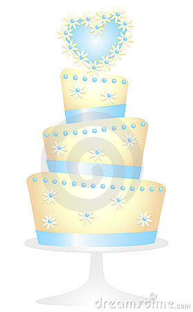 Gänseblümchen-Inner-Kuchen