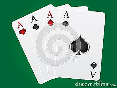 Göra ett ess på kortspel