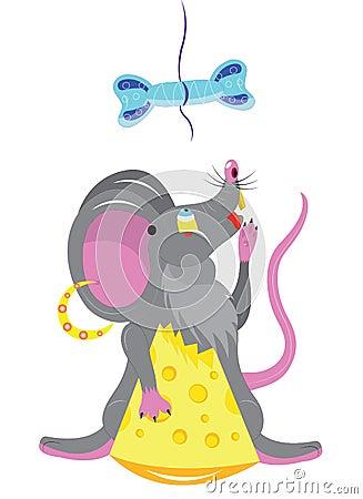 Głodna mysz.