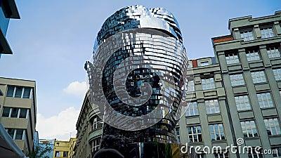 Głowa Franz Kafka zdjęcie wideo