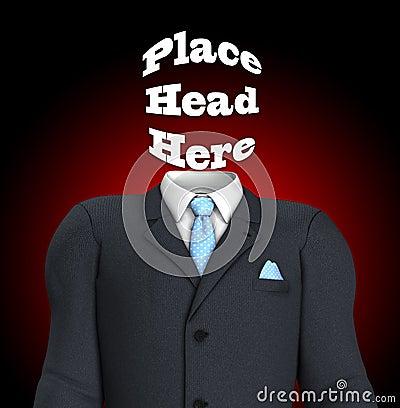 Głowy tutaj miejsce
