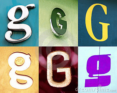 G letter - the Urban collection