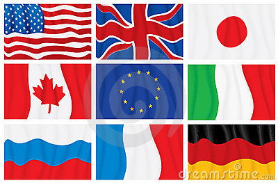 G8 flags