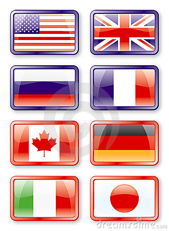 G8 flags