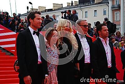 Gabe Polsky at XXXVI Moscow International Film Festival Editorial Image