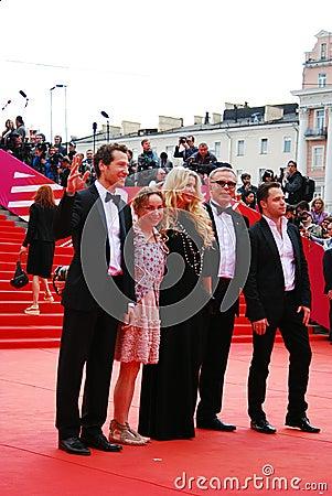 Gabe Polsky at XXXVI Moscow International Film Festival Editorial Stock Photo