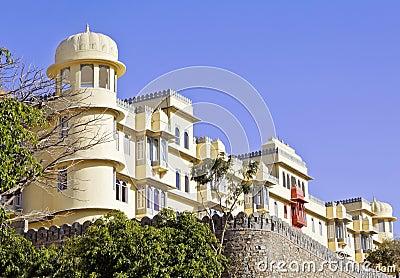 Gable end of Royal Kumbhalghar Villas