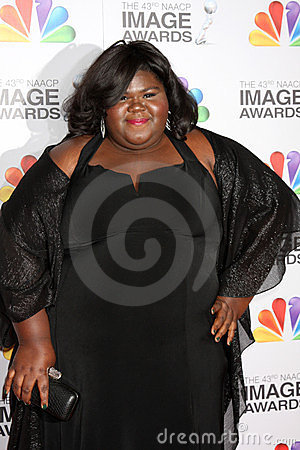 Gabourey Sidibe Editorial Stock Photo