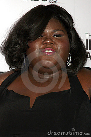 Gabourey Sidibe Editorial Stock Image