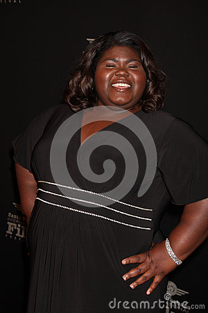 Gabourey Sidibe Editorial Image