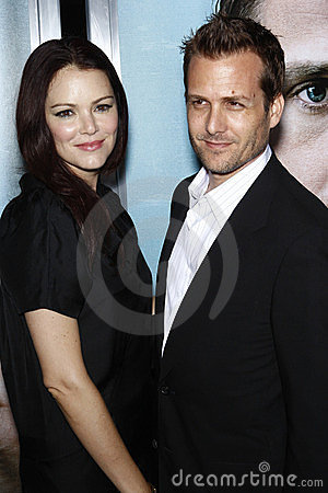 jacinda barrett and gabriel macht  LOS ANGELES - SEPT