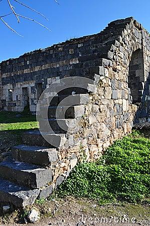 Gadara Basalt Stair