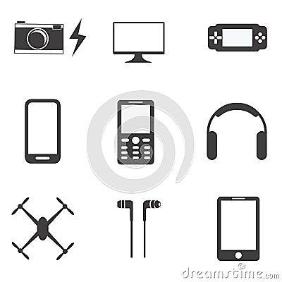 Gadgets Vector Illustration