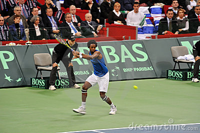 Gael Monfils Editorial Photo