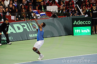 Gael Monfils Editorial Stock Photo