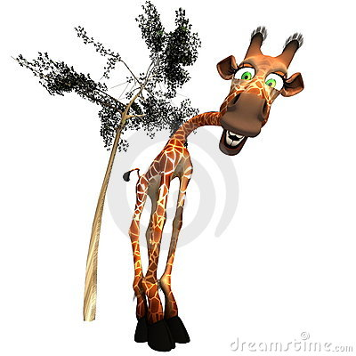 Gaffy the Giraffe - 01