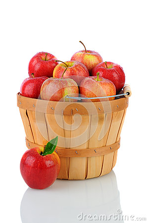 Gala Apples in a Basket