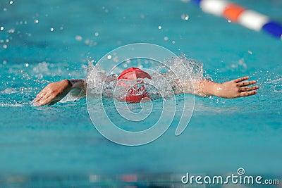 Gala swimmer
