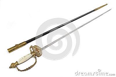 Gala sword (rapier) of Vatican guard.
