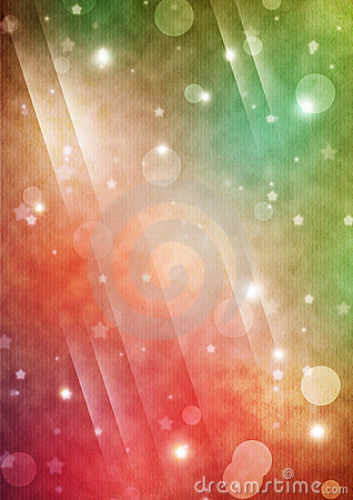 Galactic colorful background