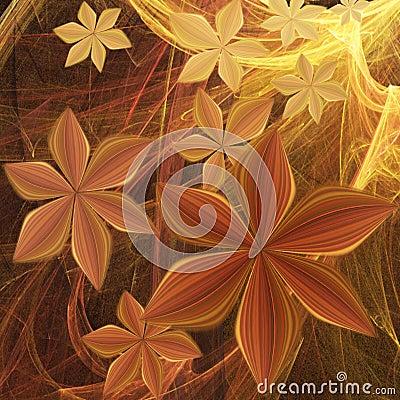 Galactic flowers