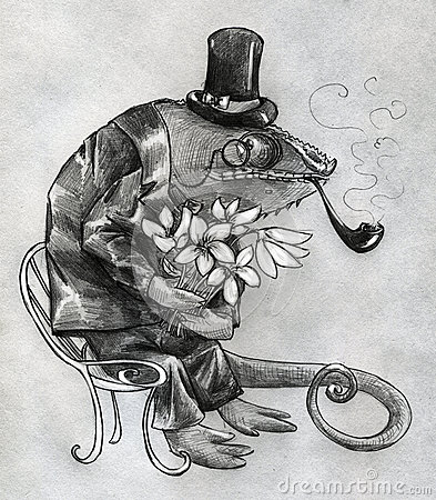 Galanteryjny kameleonu charakter