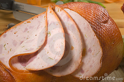 Galantine of chicken