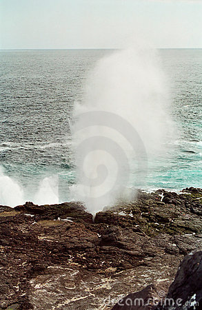 Galapagos Islands Blowhole