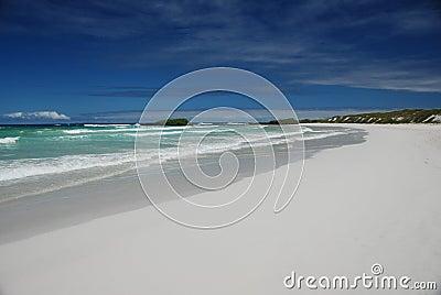 Galapagos Pacific beach