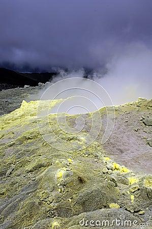 Galapagos Sulfur Volcano