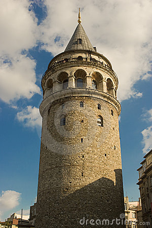 Free Galata Tower Royalty Free Stock Photos - 2872368