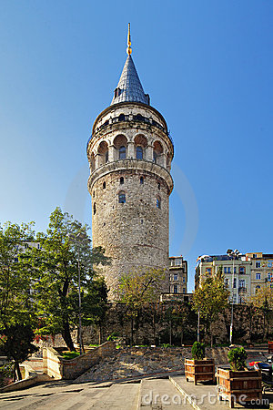 Free Galata Tower In Istanbul Stock Photography - 17244122