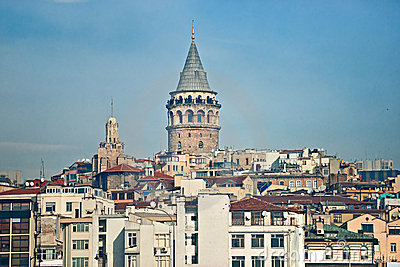 Galata tower , Istanbul.